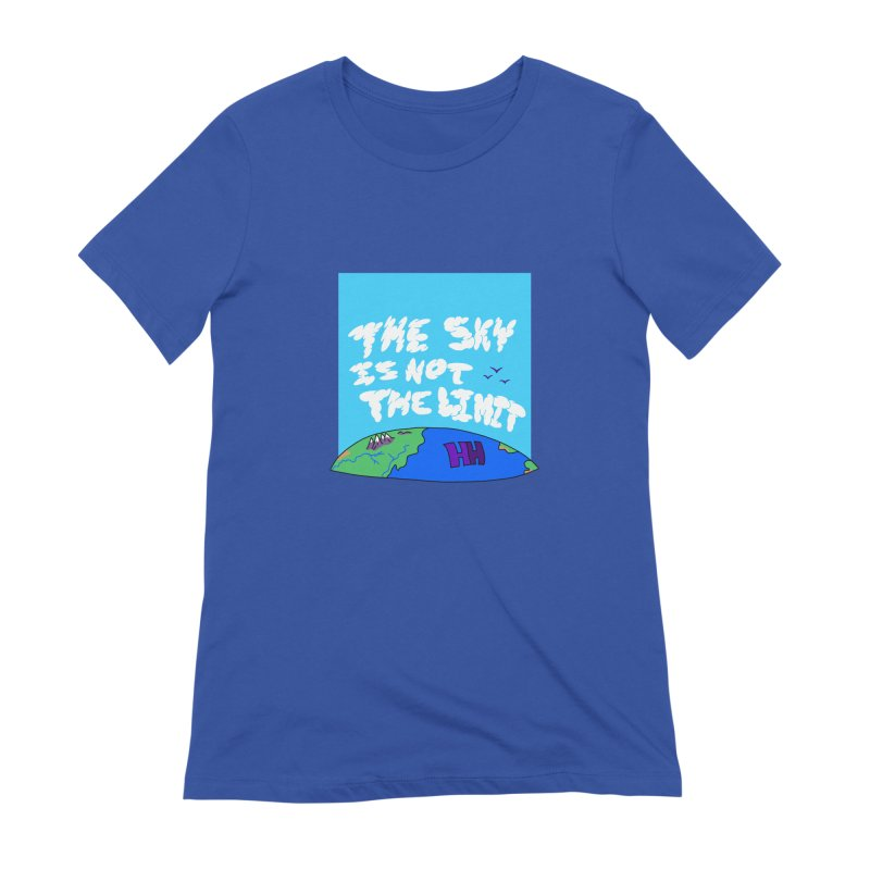 Ain't no limit boys and girls Women's Extra Soft T-Shirt by happieheads's Artist Shop