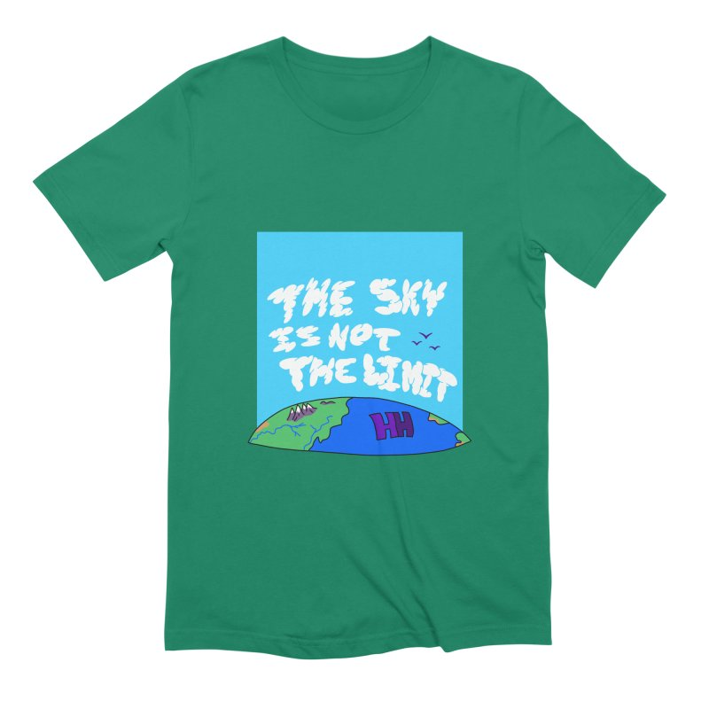 Ain't no limit boys and girls Men's Extra Soft T-Shirt by happieheads's Artist Shop
