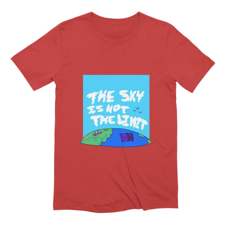 Ain't no limit boys and girls Men's T-Shirt by happieheads's Artist Shop