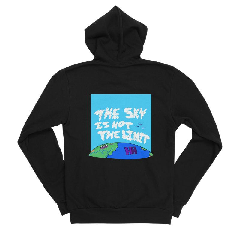 Ain't no limit boys and girls Women's Zip-Up Hoody by happieheads's Artist Shop