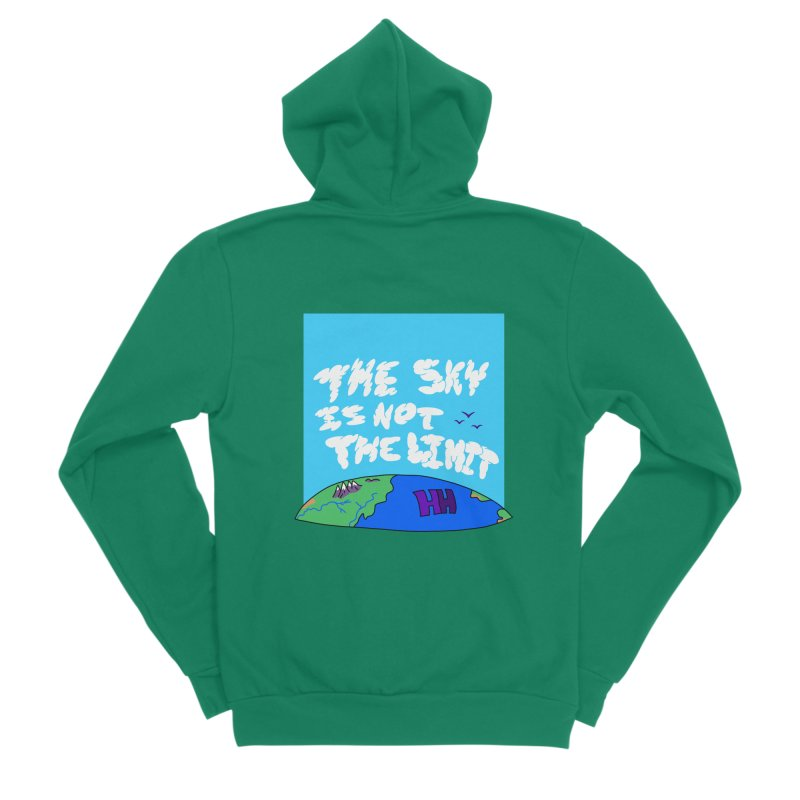 Ain't no limit boys and girls Men's Zip-Up Hoody by happieheads's Artist Shop