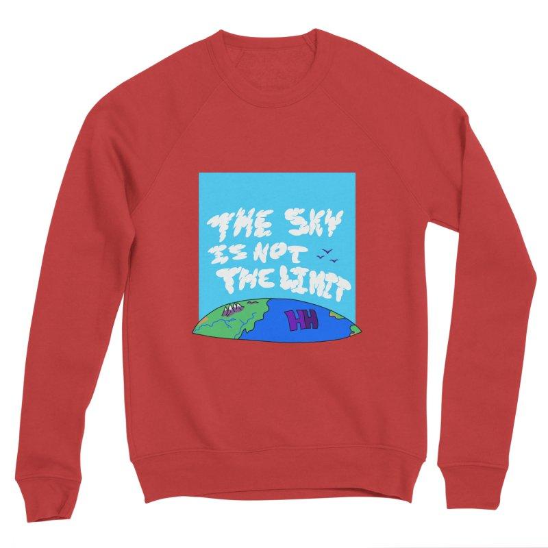 Ain't no limit boys and girls Women's Sponge Fleece Sweatshirt by happieheads's Artist Shop