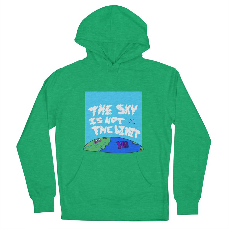 Ain't no limit boys and girls Women's French Terry Pullover Hoody by happieheads's Artist Shop