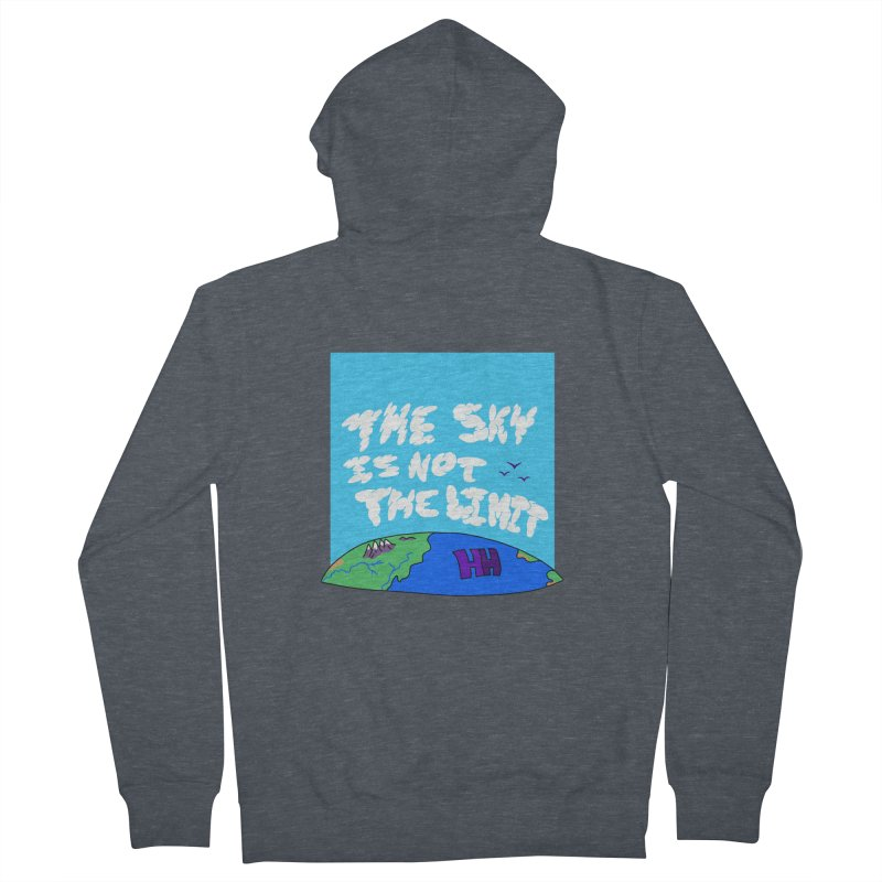 Ain't no limit boys and girls Women's French Terry Zip-Up Hoody by happieheads's Artist Shop