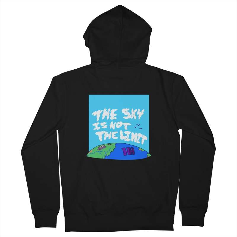 Ain't no limit boys and girls Men's French Terry Zip-Up Hoody by happieheads's Artist Shop