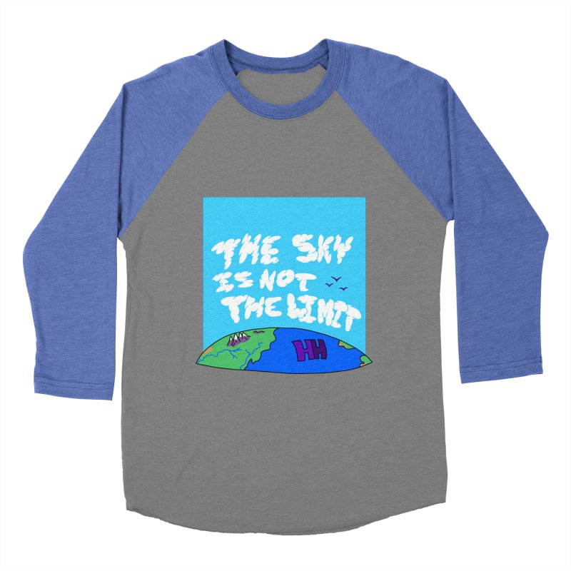 Ain't no limit boys and girls Women's Baseball Triblend Longsleeve T-Shirt by happieheads's Artist Shop