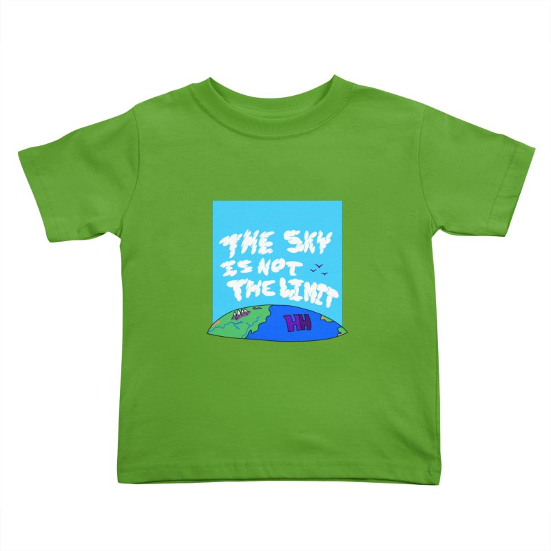 Ain't no limit boys and girls Kids Toddler T-Shirt by happieheads's Artist Shop