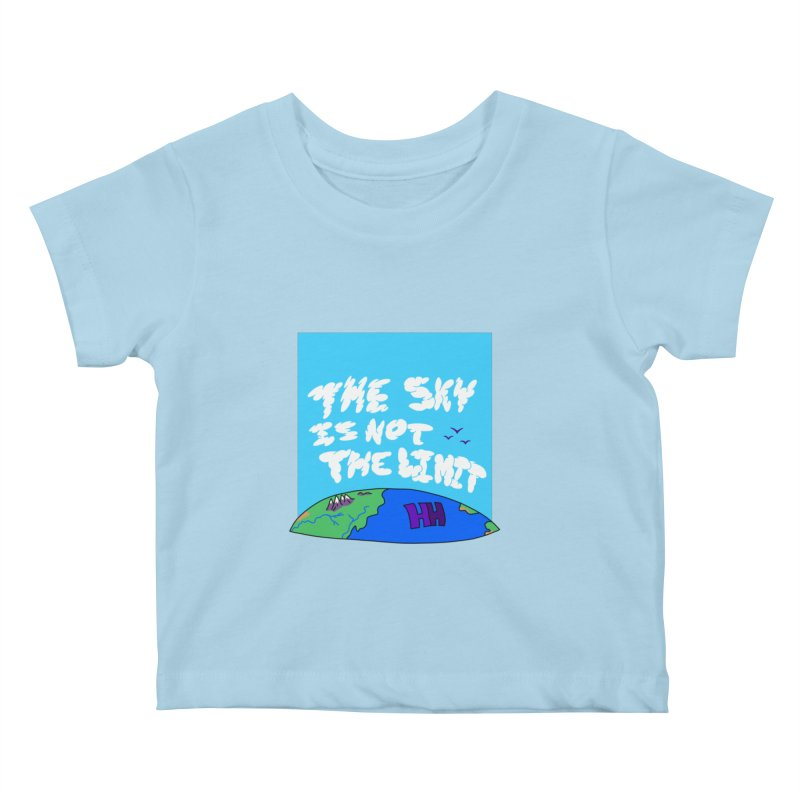 Ain't no limit boys and girls Kids Baby T-Shirt by happieheads's Artist Shop