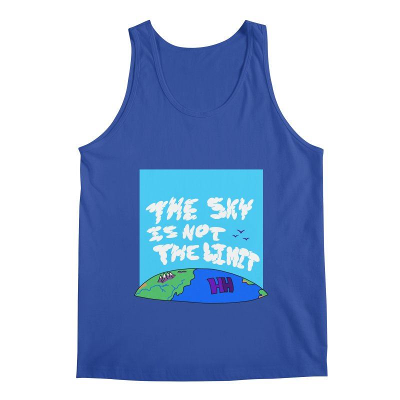 Ain't no limit boys and girls Men's Tank by happieheads's Artist Shop