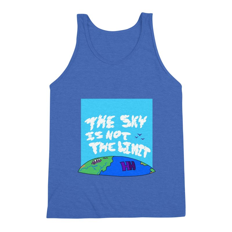 Ain't no limit boys and girls Men's Triblend Tank by happieheads's Artist Shop