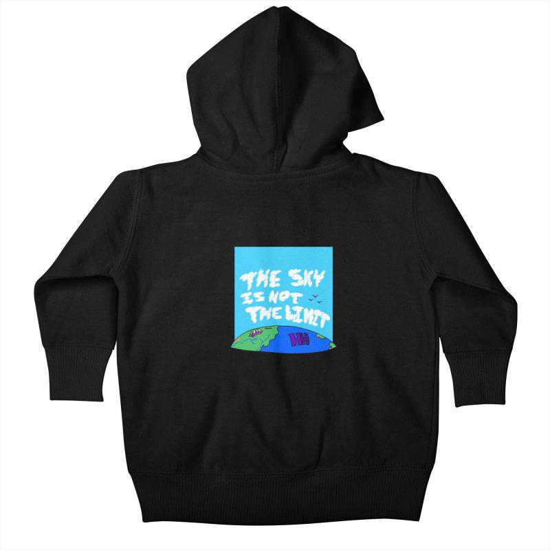 Ain't no limit boys and girls Kids Baby Zip-Up Hoody by happieheads's Artist Shop