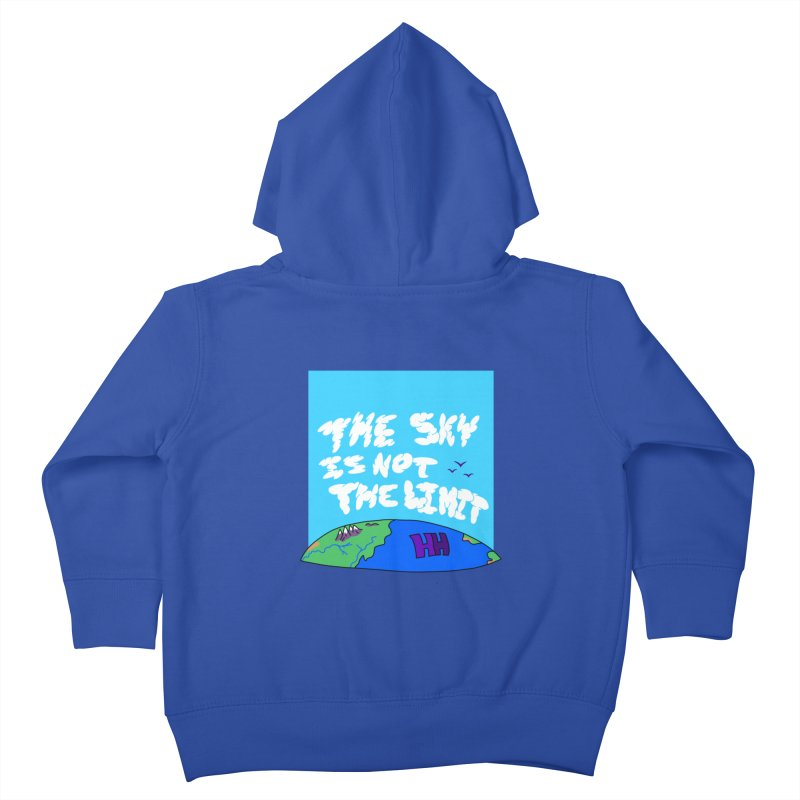 Ain't no limit boys and girls Kids Toddler Zip-Up Hoody by happieheads's Artist Shop