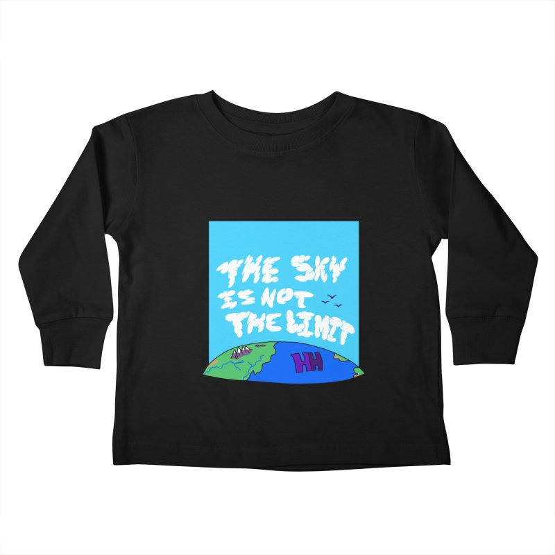 Ain't no limit boys and girls Kids Toddler Longsleeve T-Shirt by happieheads's Artist Shop