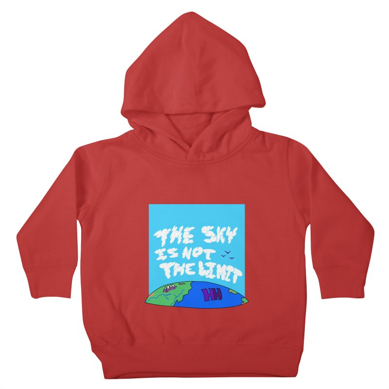 Ain't no limit boys and girls Kids Toddler Pullover Hoody by happieheads's Artist Shop