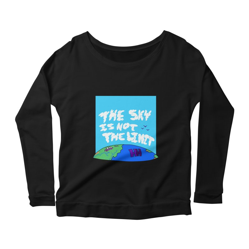 Ain't no limit boys and girls Women's Scoop Neck Longsleeve T-Shirt by happieheads's Artist Shop