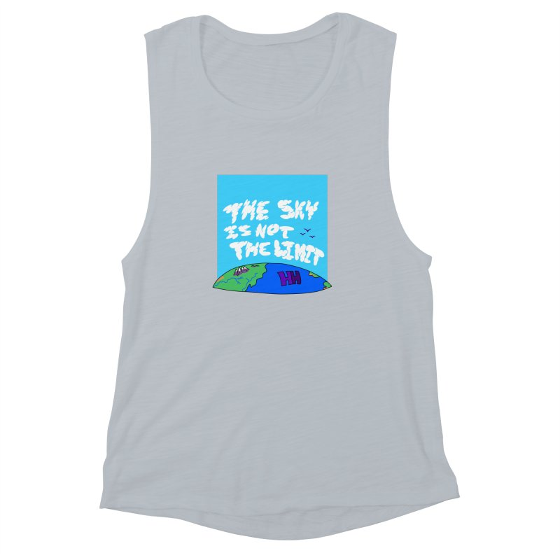 Ain't no limit boys and girls Women's Muscle Tank by happieheads's Artist Shop