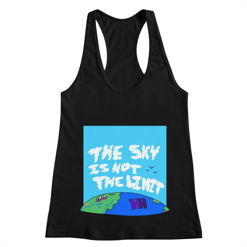 Ain't no limit boys and girls Women's Racerback Tank by happieheads's Artist Shop