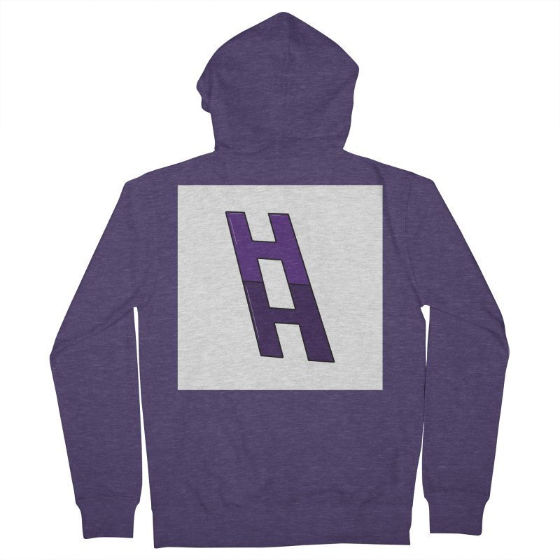 Happieness Ladder Men's French Terry Zip-Up Hoody by happieheads's Artist Shop