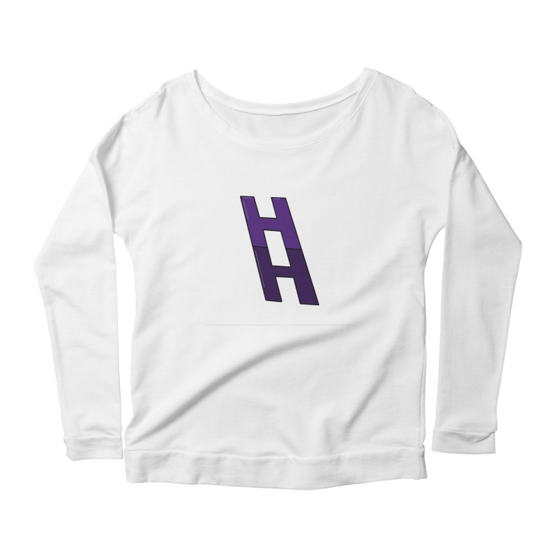 Happieness Ladder Women's Scoop Neck Longsleeve T-Shirt by happieheads's Artist Shop