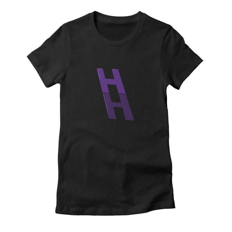 HAPPIELADDER DARK Women's T-Shirt by happieheads's Artist Shop