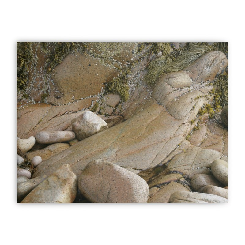 Rock Mama Home Stretched Canvas by Mish Sommers and Happier Outside