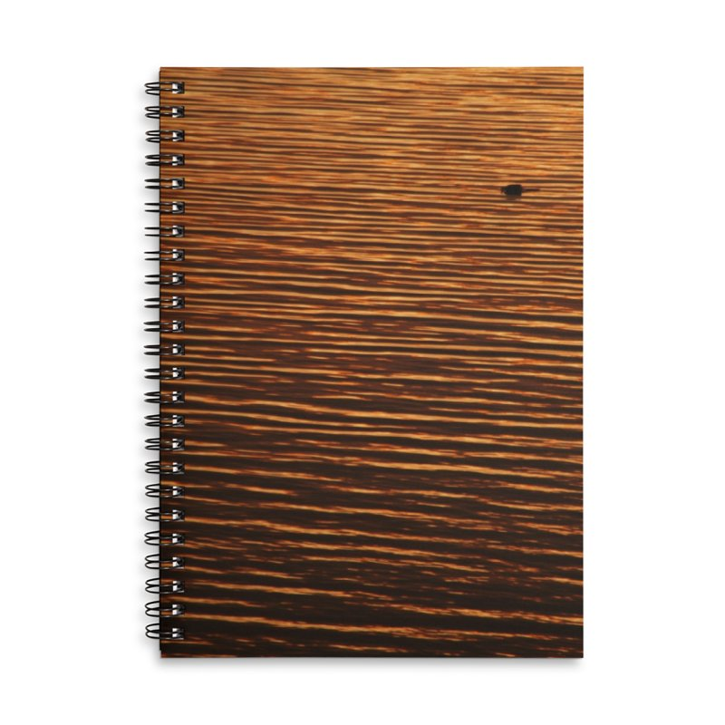 Red Sea Accessories Lined Spiral Notebook by Mish Sommers and Happier Outside