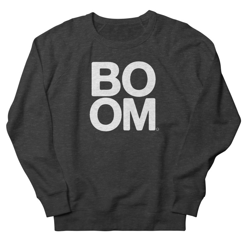 Unisex BOOM Smoke Sweatshirt Men's Sweatshirt by HappyBombs's Artist Shop