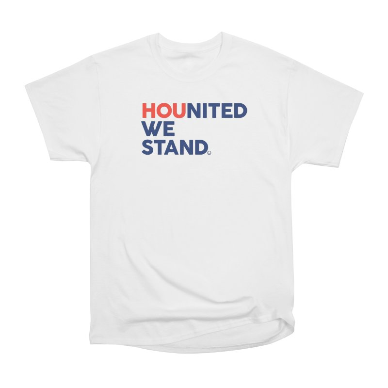 Hounited We Stand Women's Classic Unisex T-Shirt by HappyBombs's Artist Shop