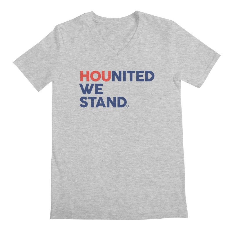 Hounited We Stand Men's V-Neck by HappyBombs's Artist Shop
