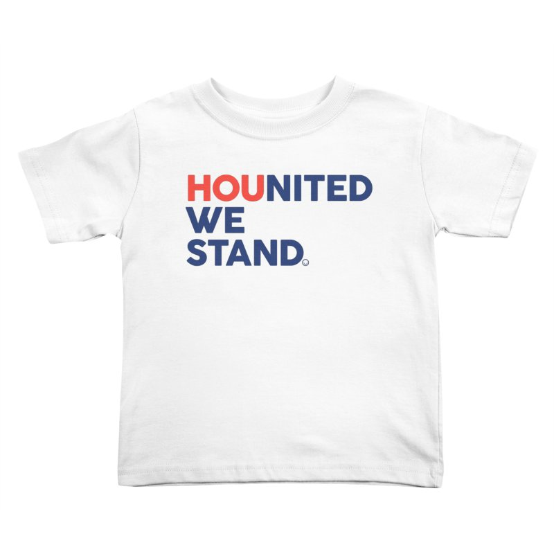 Hounited We Stand Kids Toddler T-Shirt by HappyBombs's Artist Shop