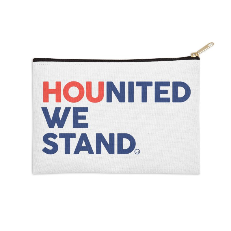 Hounited We Stand Accessories Zip Pouch by HappyBombs's Artist Shop