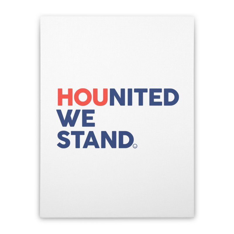 Hounited We Stand Home Stretched Canvas by HappyBombs's Artist Shop