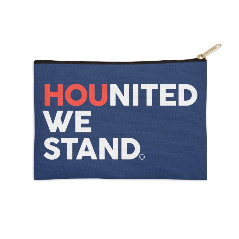 Hounited We Stand - Blue Accessories Zip Pouch by HappyBombs's Artist Shop