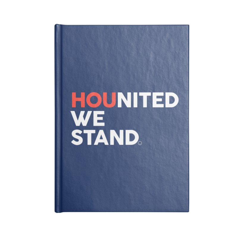 Hounited We Stand - Blue Accessories Notebook by HappyBombs's Artist Shop
