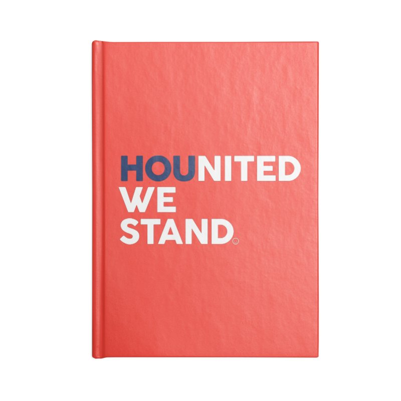 Hounited We Stand - Red  Accessories Notebook by HappyBombs's Artist Shop