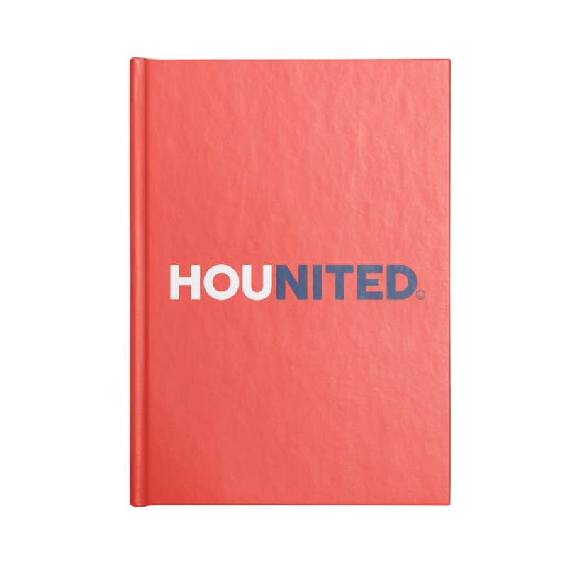 Hounited Accessories Notebook by HappyBombs's Artist Shop