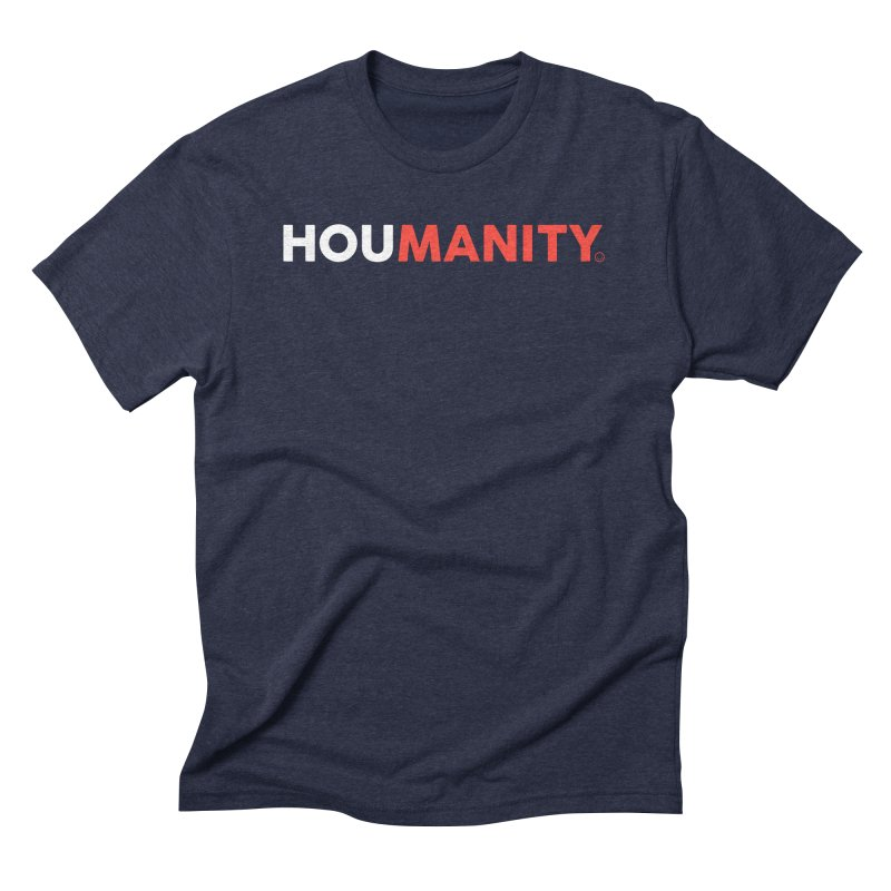 Houmanity Men's Triblend T-Shirt by HappyBombs's Artist Shop