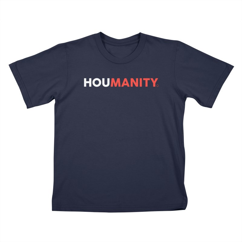 Houmanity Kids T-Shirt by HappyBombs's Artist Shop