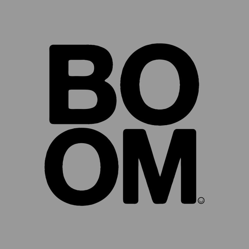 Original BOOM T-shirt None  by HappyBombs's Artist Shop