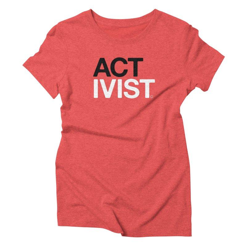 Diabetes Activist T-shirt Women's Triblend T-shirt by HappyBombs's Artist Shop