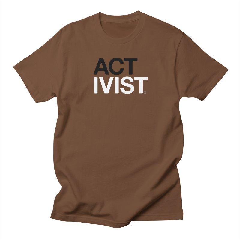 Environment Activist T-shirt Men's T-shirt by HappyBombs's Artist Shop
