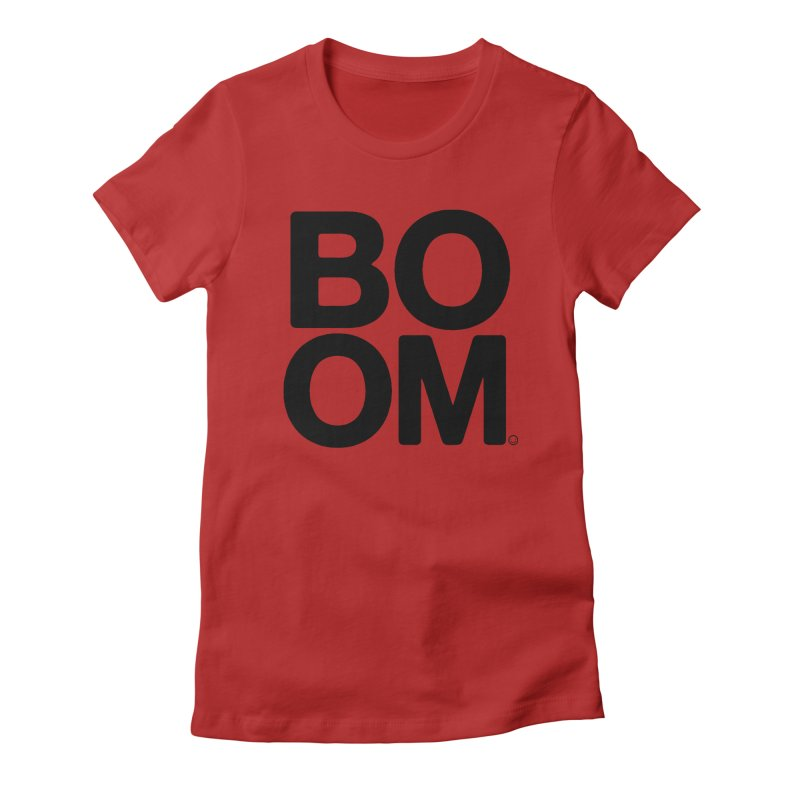Diabetes BOOM T-shirt Women's Fitted T-Shirt by HappyBombs's Artist Shop