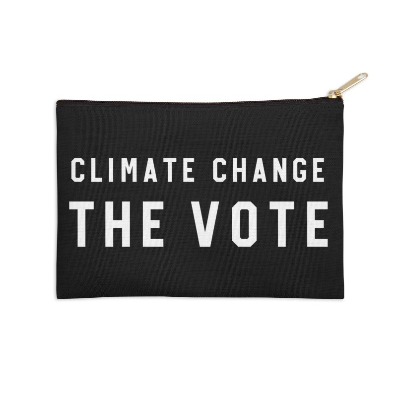 Climate Change The Vote Accessories Zip Pouch by HappyBombs's Artist Shop