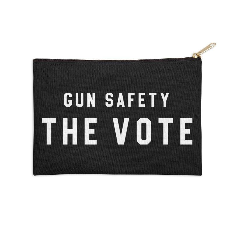 Gun Safety The Vote Accessories Zip Pouch by HappyBombs's Artist Shop