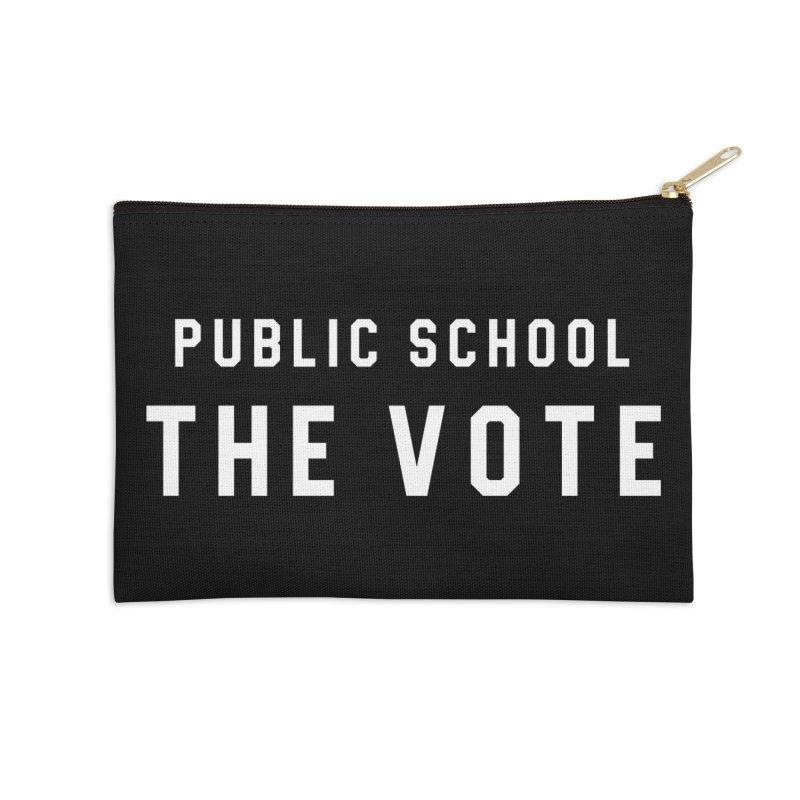 Public School The Vote Accessories Zip Pouch by HappyBombs's Artist Shop