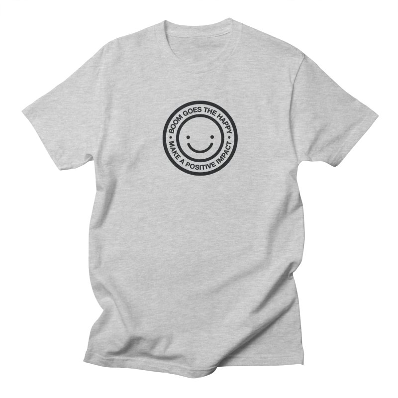 Happy Badge T-shirt Women's Unisex T-Shirt by HappyBombs's Artist Shop
