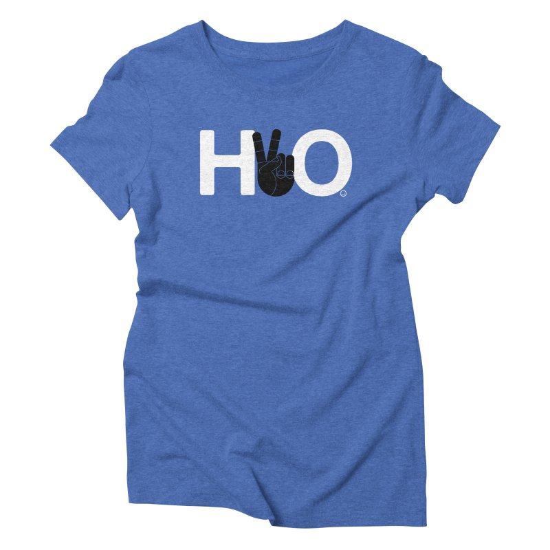 Water & Peace T-shirt Women's Triblend T-shirt by HappyBombs's Artist Shop