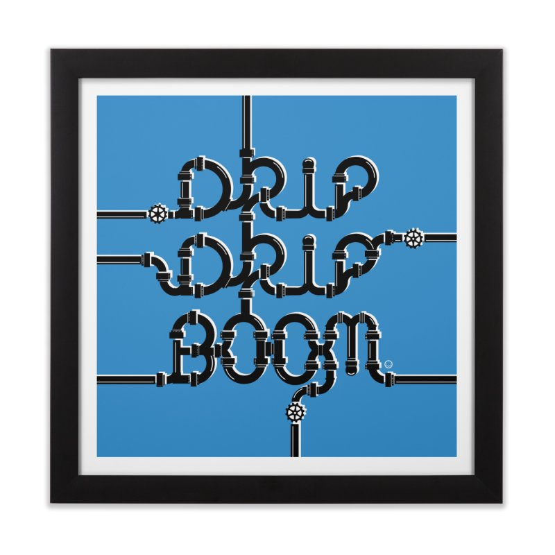 Water Pipes Print Home Framed Fine Art Print by HappyBombs's Artist Shop