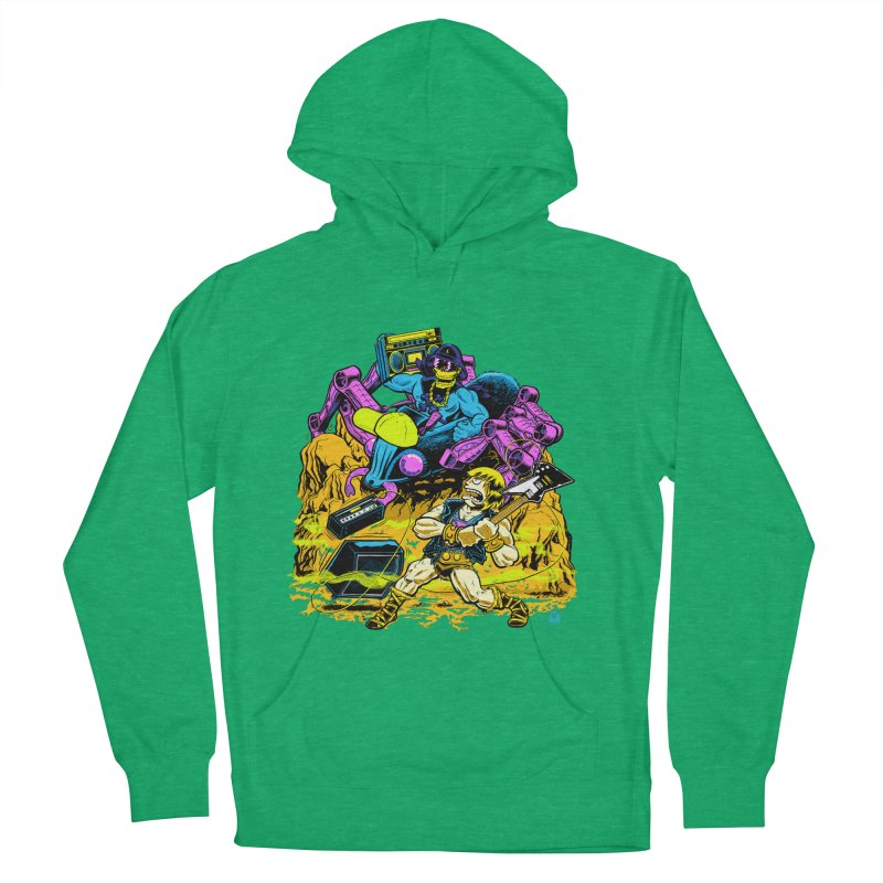 Masters of the Old School Men's Pullover Hoody by Happy Family