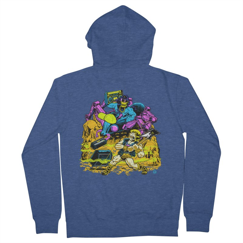 Masters of the Old School Women's Zip-Up Hoody by Happy Family